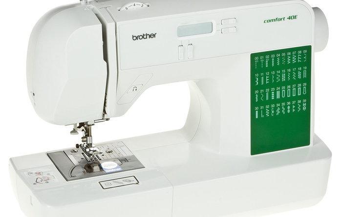 Отзывы о швейной машинке Brother Comfort 40 E