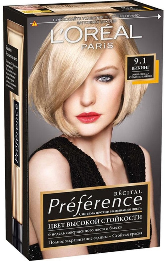 L`Oreal Recital Preference