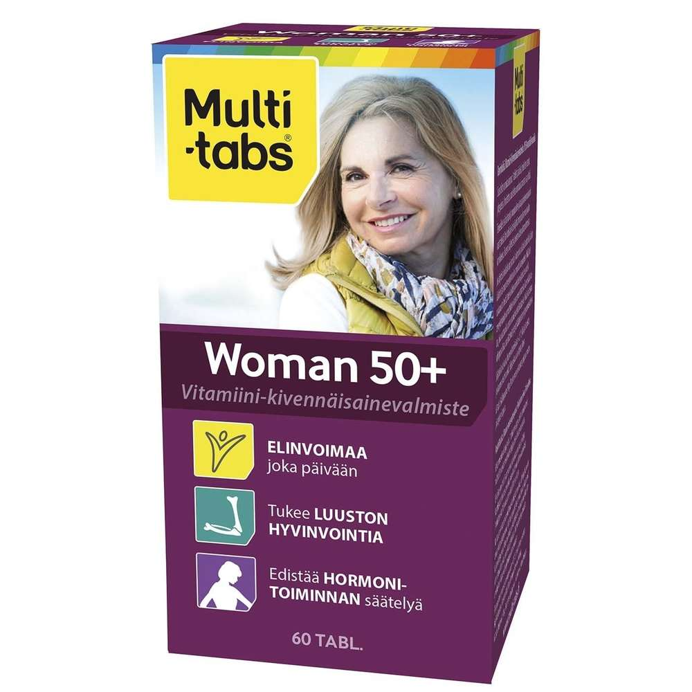 Multi-tabs Woman 50+