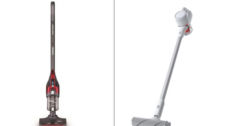 Сравнение мощного беспроводного пылесоса Morphy Richards Supervac Deluxe 734055 и беспроводного пылесоса Xiaomi Mijia Handheld Wireless Vacuum Cleaner