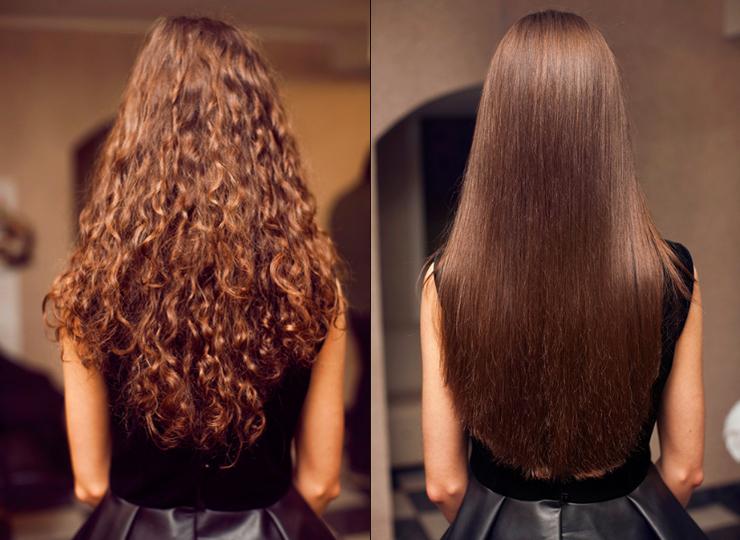 Как выпрямить волосы без утюжка и фена в домашних условиях.