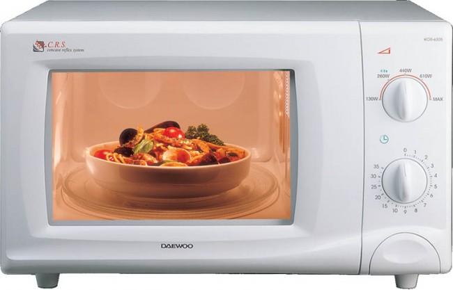 Какую посуду можно использовать в микроволновке?