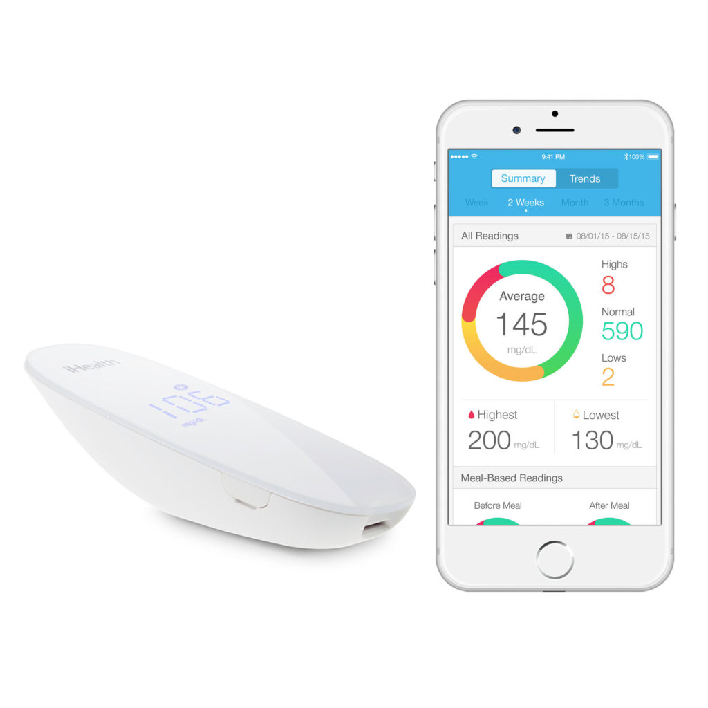iHealth Wireless Smart Gluco-Monitoring System BG5