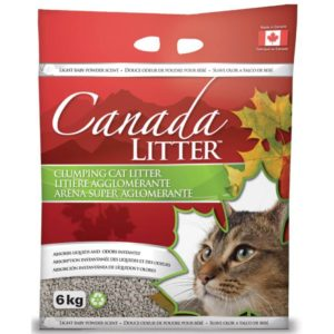 Canada Litter Scoopable Baby Powder