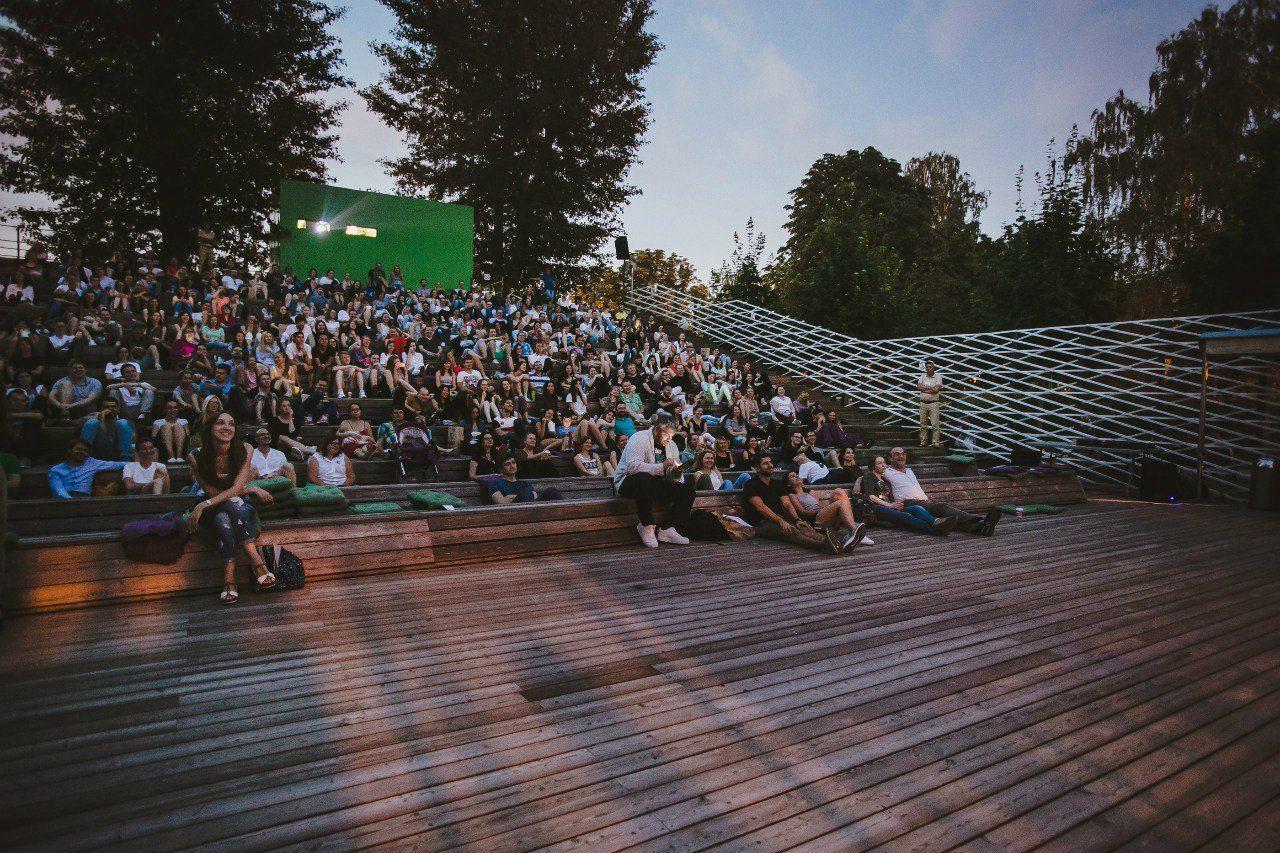 Летний кинотеатр «Пионер» в парке им. Горького