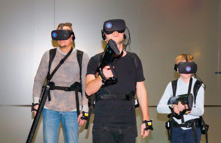Арена виртуальной реальности Another World